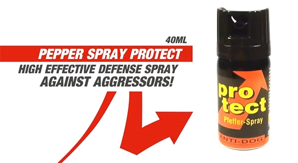 Produktvideo - Pepperspray Protect 40ml Fog - www.pepperspray.cc
